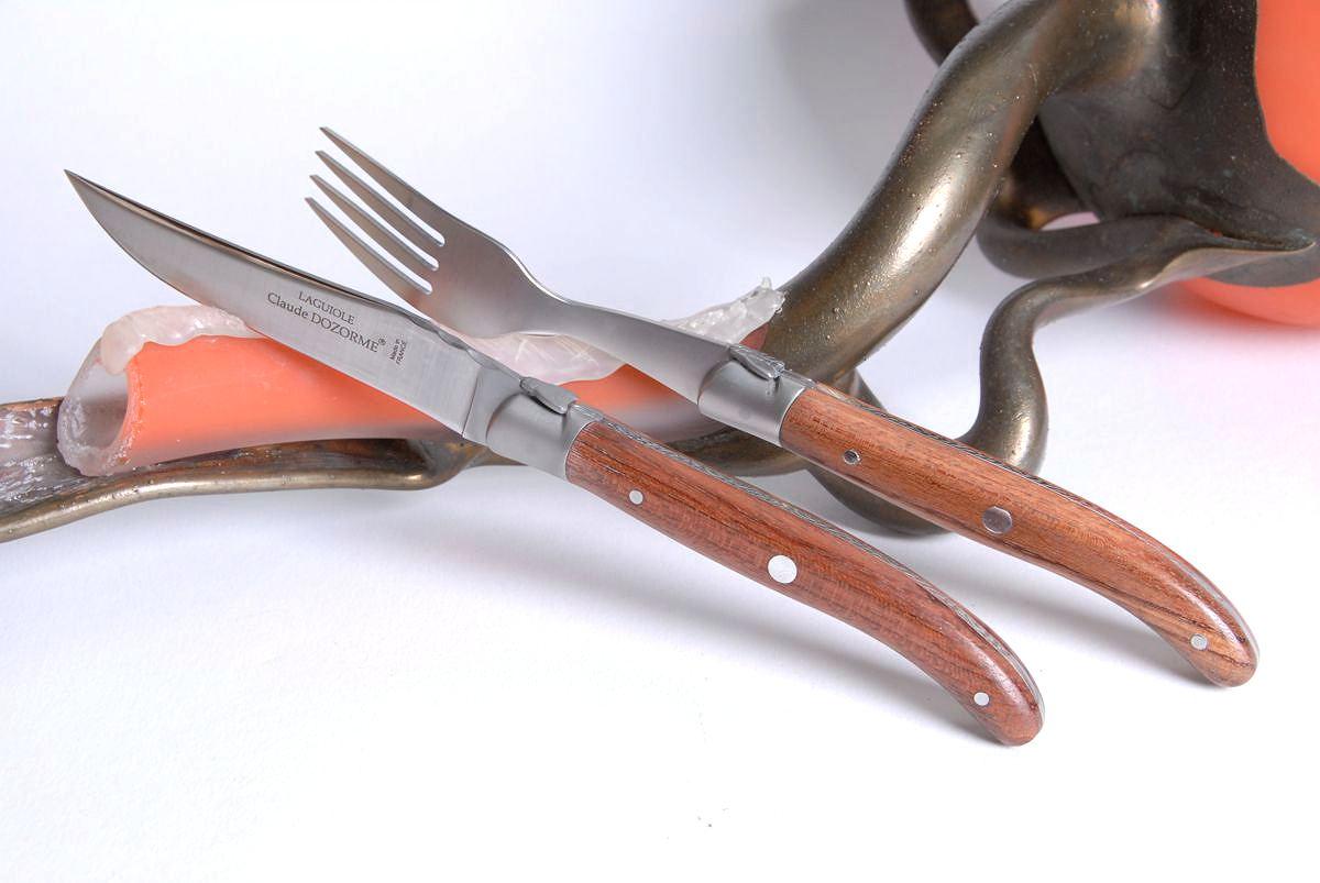 Bubingaholz Laguiole Messer