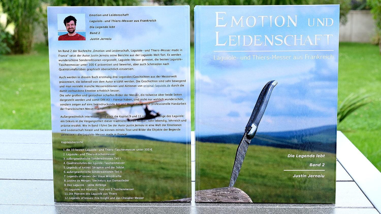 Original laguiole - Emotion und Leidenschaft Buch, 2019, Band 2, Die Legende lebt, 140 Seiten DIN A4