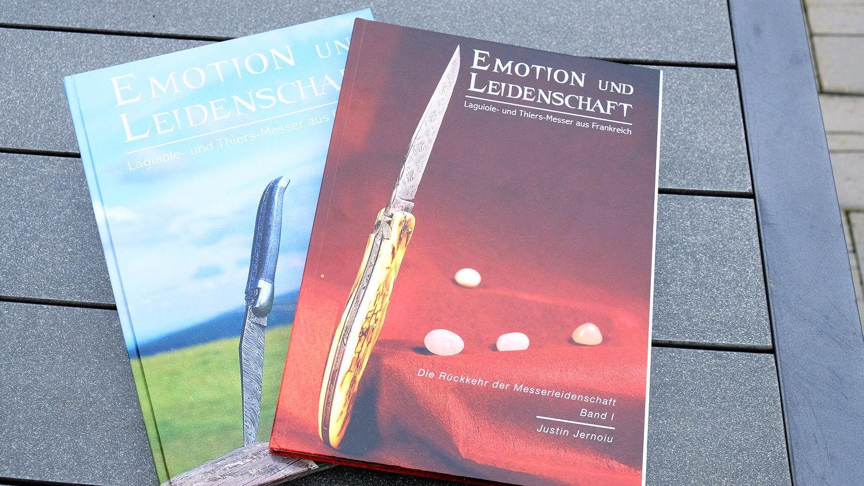 Original laguiole - Emotion und Leidenschaft Buch, SET aus Band 1 und 2