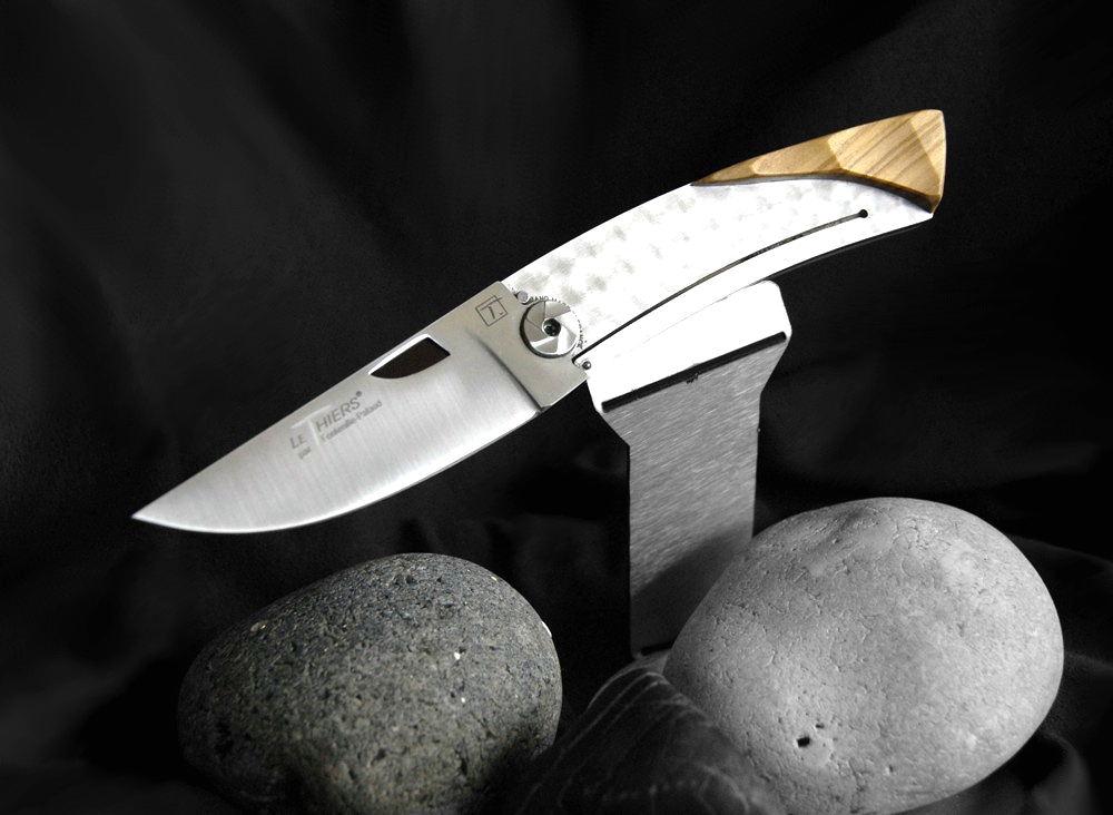 Original laguiole - Taschenmesser Fontenille Pataud Einhandmesser Oliven-Holz