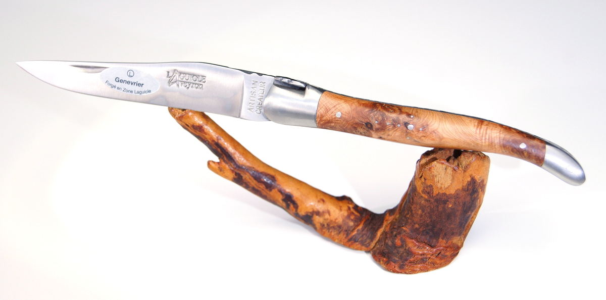 Original laguiole - Taschenmesser Laguiole Aveyron, Wacholder BROSSE