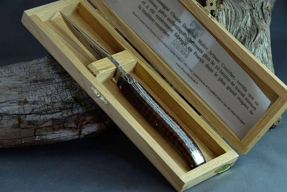 Original laguiole - Taschenmesser Laguiole Claude Dozorme, Bijou, Amourette Anguis