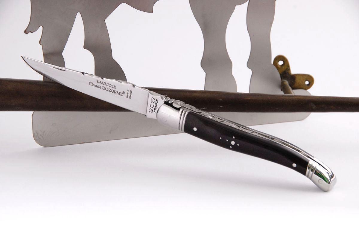 Ebenholz Laguiole Messer