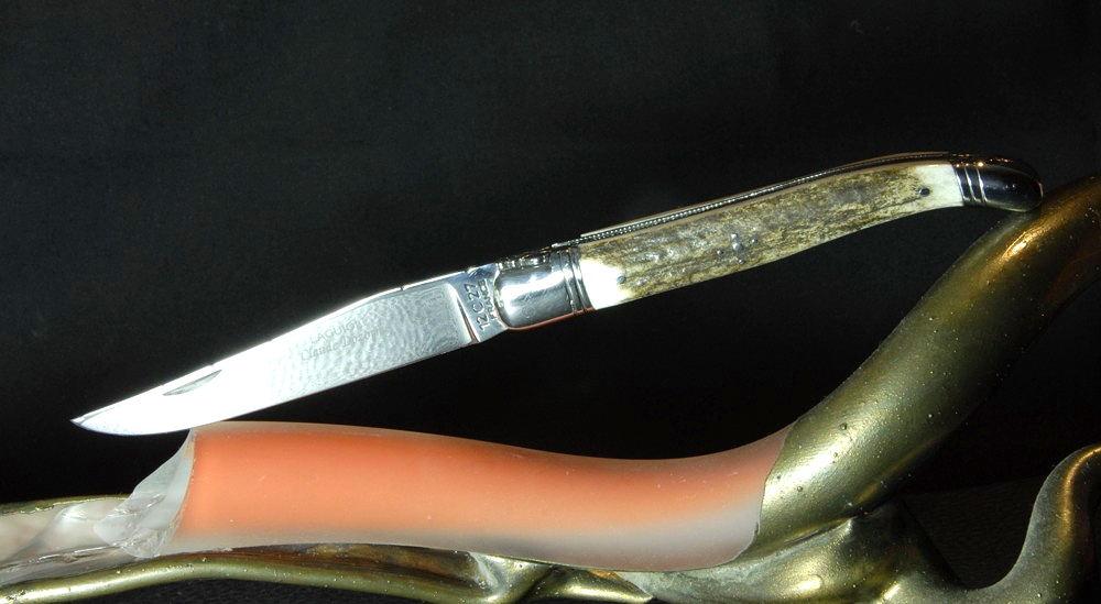 Original laguiole - Taschenmesser Laguiole Claude Dozorme, Hirsch-Horn
