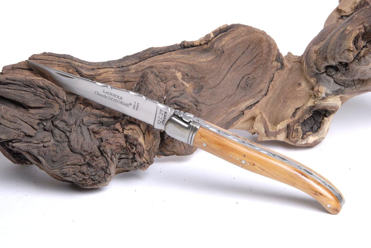Original laguiole - Taschenmesser Laguiole Claude Dozorme, Wacholder