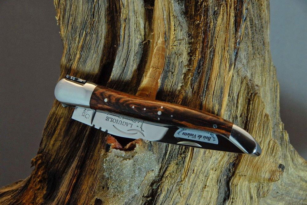 Veilchenholz Laguiole Messer