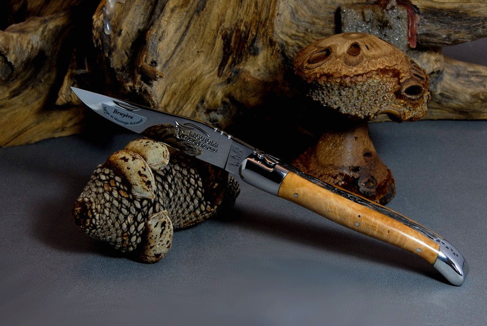 Laguiole Honore Durand, Double Platines - Briar Wood