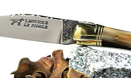 Original laguiole - Taschenmesser Laguiole Le Fidèle Classic Hornspitze blond