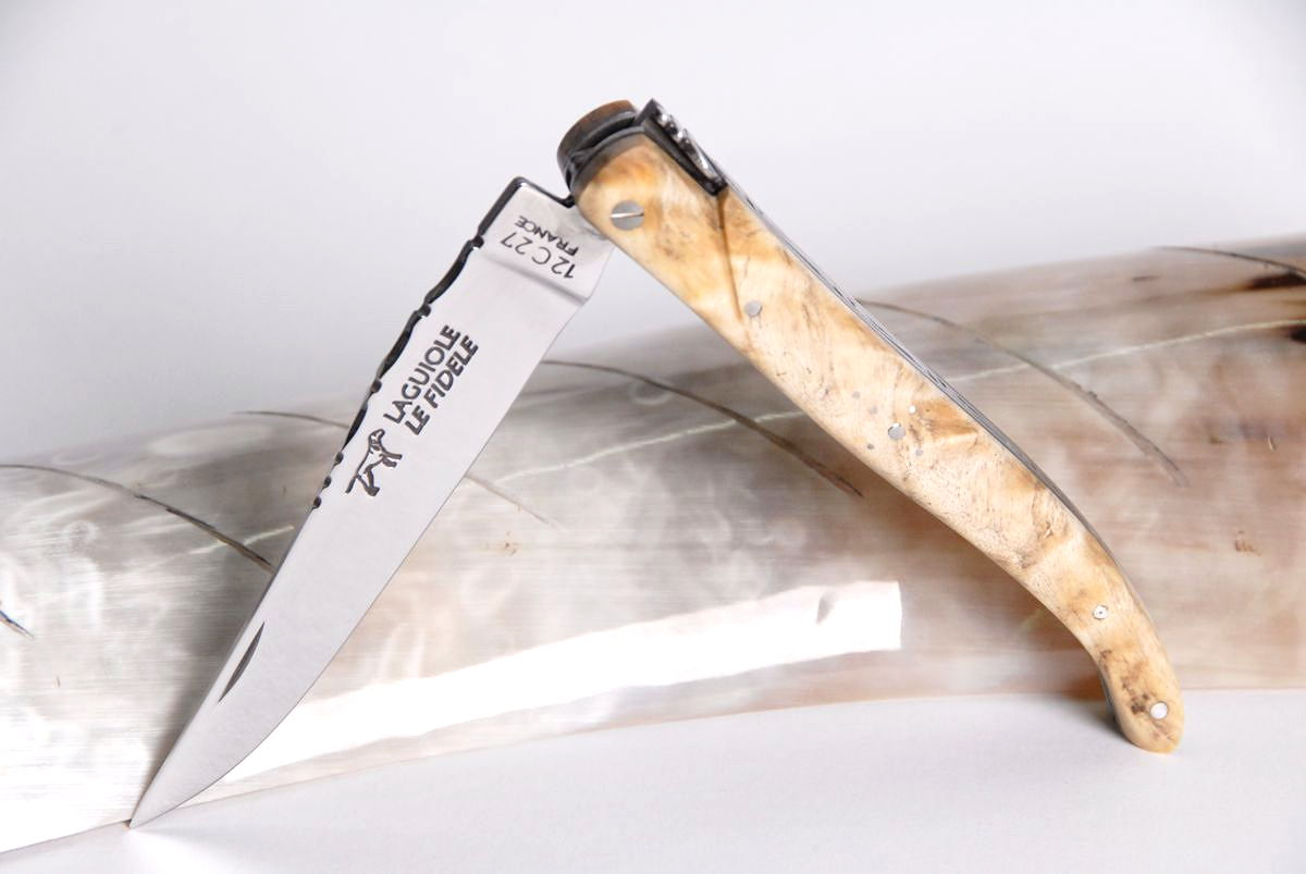 Pappel Laguiole Messer