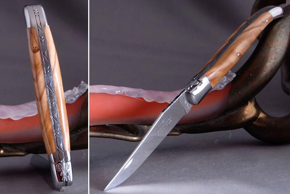 Olivenholz Laguiole Messer