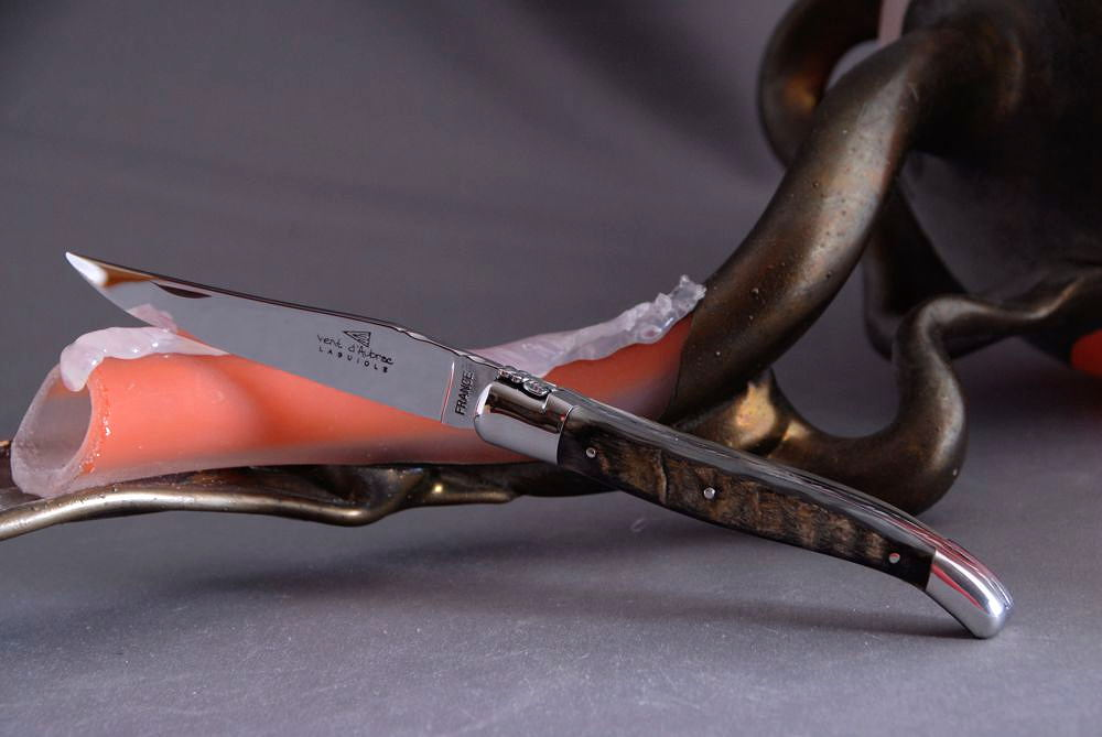 Original laguiole - Taschenmesser Laguiole Vent d´Aubrac, Passion, Brillant, Widder Kruste