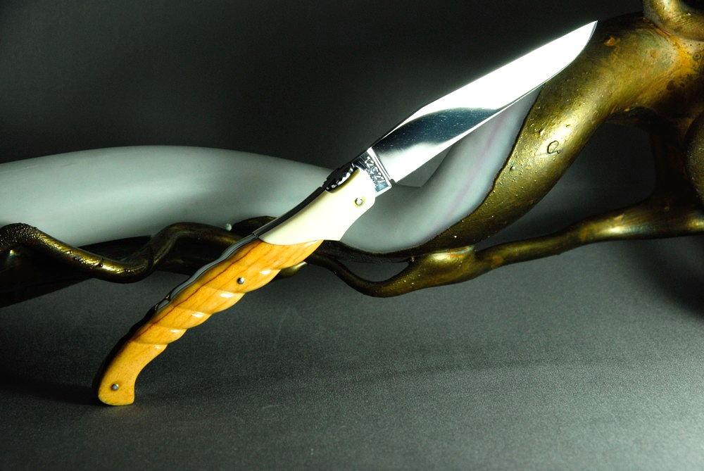 Giraffenknochen Laguiole Messer