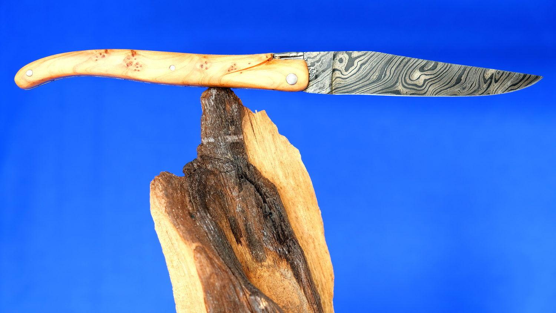 Laguiole Taschenmesser mit Damastklinge