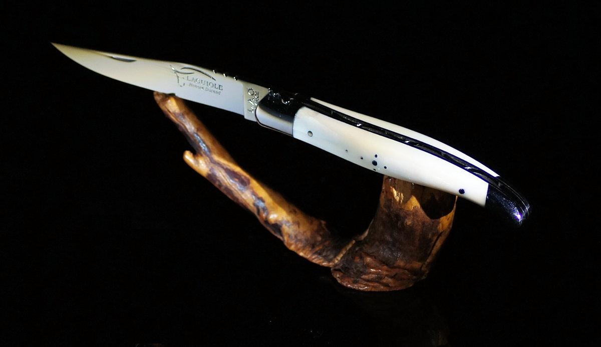 Original laguiole - Taschenmesser Laguiole Honore Durand, 11 cm, Warzenschweinstosszahn, 14c28