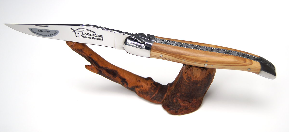 Original laguiole - Taschenmesser Laguiole Honore Durand Olivenholz, Edition Sirene