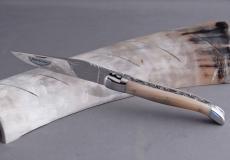 Original laguiole - Laguiole Honore Durand double Platines Brillant Hornspitze 14C28N