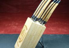 Messerständer für 6 Steak- oder Küchenmesser (ohne Messer) von Le Fidele