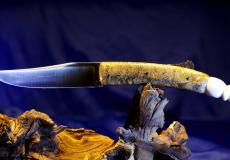 Original laguiole - Taschenmesser Laguiole Honore Durand,16 cm, ohne Biene, Ahorn Wurzelholz und Warzenschweinstosszahn