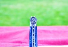 Taschenmesser Laguiole Honore Durand, Edition wind dragon, Giraffenknochen, 14C28 Stahl, brosse